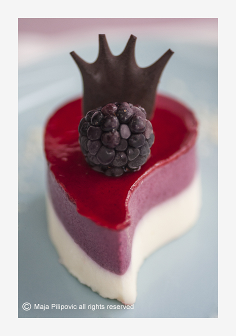 Blackberry Mousse Cake | Food in focus