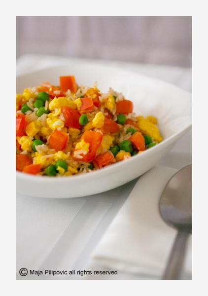 Eggs & rice