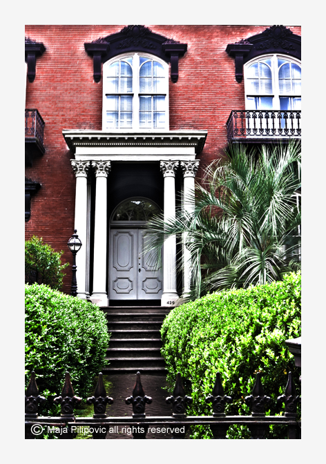 Mercer House Door
